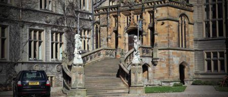 Carlton Towers Outdoor Stairs