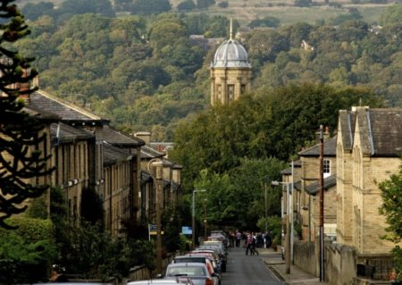 View of Saltaire Village