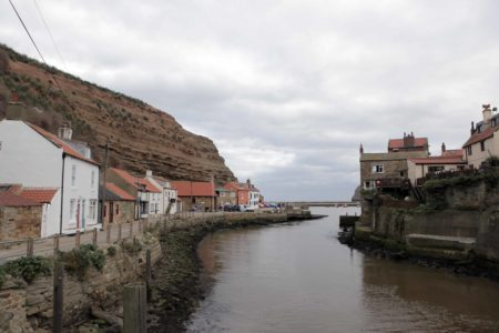 Houses By Staithes Beck
