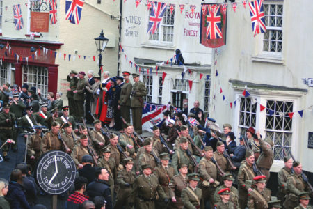 'Dad's Army' filmed in Bridlington Old Town © Universal Pictures