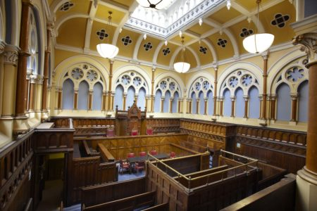 The Victorian Courtroom at City Hall