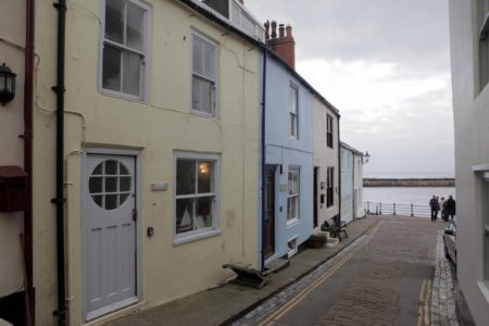 Staithes Pastel Coloured Houses