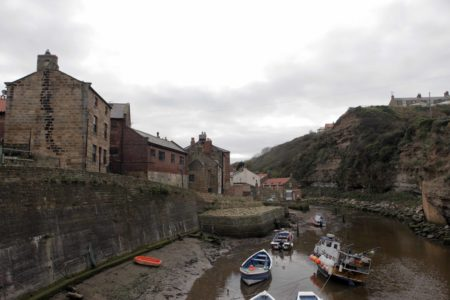 Staithes Fishing Boats