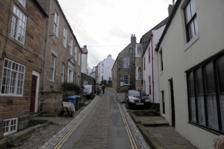 Staithes Sloped Road