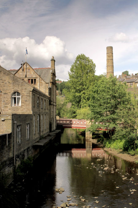View of canal, Hebden Bridge