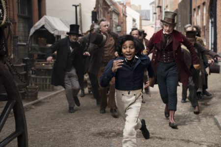 'The Personal History of David Copperfield' filming on location in Hull's Old Town