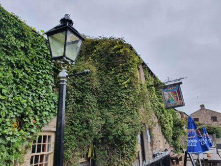 Green Dragon Inn Front of pub