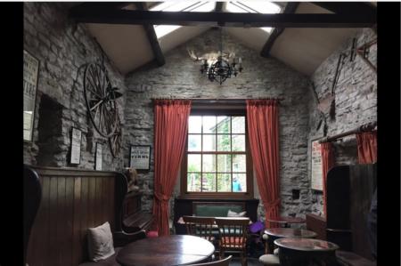 Green Dragon Inn Moose Room