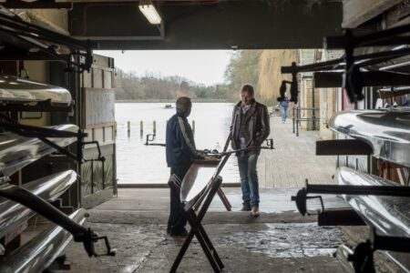 Rhys Ifans stars in Official Secrets, filmed at Roundhay Boathouse