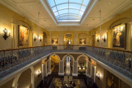 Oulton Hall - Balcony