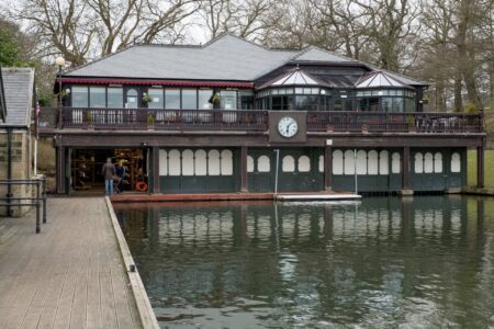 Official Secrets filming at Roundhay Boathouse