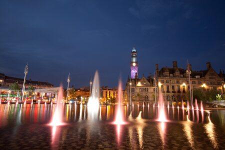 City Park at Night, Bradford