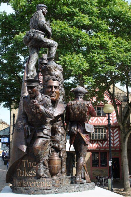 Dukes Regimental Statue, Halifax. Image: VisitCalderdale