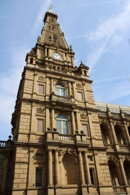 Halifax Town Hall Tower. Image: VisitCalderale