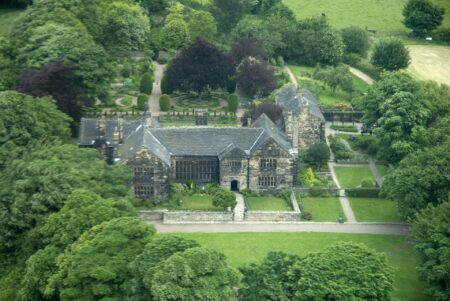 Oakwell Hall, Aerial view