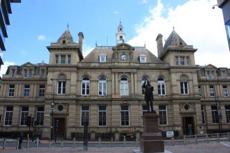 Statue of Forster Square, Bradford