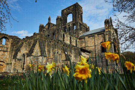 Kirkstall Abbey -April